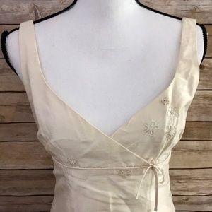 Nanette Lepore Silk & Sequin Formal Cocktail Dress